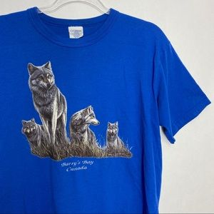 Barry's Bay Canada Wolf T-shirt